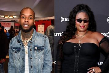 Tory Lanez Uses Lizzo Hugging Picture To Promote Relationship Goals