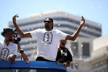 Kevin Durant Feels Like He's Forever A Legend In The Bay Area: Watch
