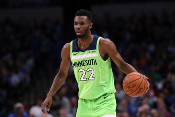 Andrew Wiggins Uses Joyful Drake Clip To Shade T-Wolves After Trade