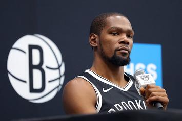 Kevin Durant Admits He Still Uses Burner Account To Get At Trolls