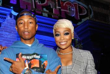 """Monica Shares Clip Of Studio Session With Pharrell Williams: """"I Just Wanna Sing"""""""