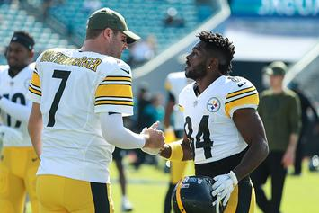 "Antonio Brown Apologizes To Ben Roethlisberger: ""I Appreciate You"""