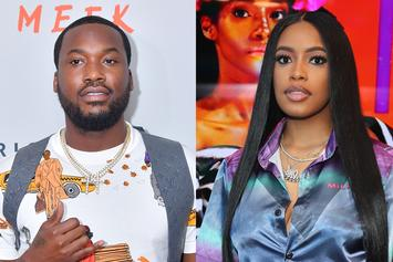 Meek Mill & Girlfriend Make It IG Official