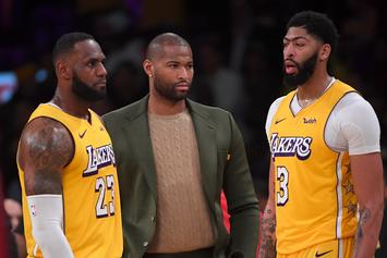 Lakers' HC Frank Vogel Says DeMarcus Cousins Will Return For Playoffs