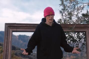 """Justin Bieber Enjoys The Great Outdoors In """"E.T.A."""" Music Video"""