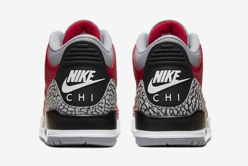 "Air Jordan 3 ""CHI"" Releasing Again This Week: Details"