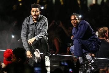 """Kendrick Lamar & The Weeknd Sued Over Black Panther Soundtrack's """"Pray For Me"""""""