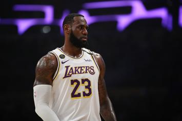 LeBron James Reacts To Kobe Bryant Memorial & Vanessa's Speech