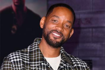 "Will Smith Transforms Into Serena Williams' Dad On Set Of ""King Richard"" Biopic"