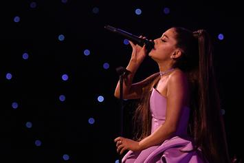"Ariana Grande & Jim Carrey Share A Duet On ""Kidding"""