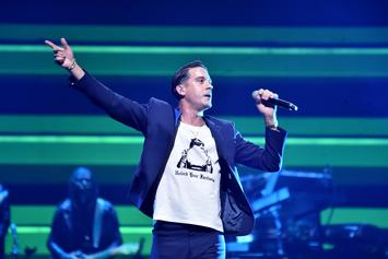 G-Eazy & Jamie Foxx Perform At LA's Delilah