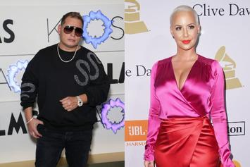 Scott Storch & Amber Rose Secure A Big Ol' Bag