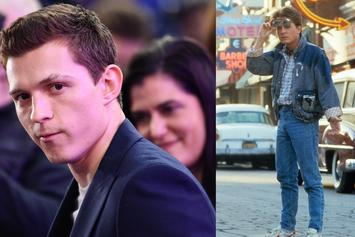 "Tom Holland Speaks On ""Back To The Future"" Remake Rumors"