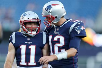 Tom Brady Appears To Facetime Titans Coach Mike Vrabel At Syracuse Game