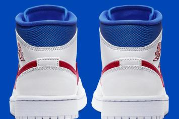 Air Jordan 1 Mid Receives Patriotic Makeover: Official Photos