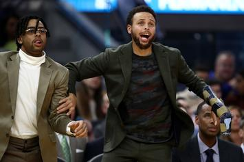 Steph Curry Reacts To News Of His Warriors Return