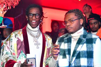 """Gunna & Young Thug's """"3 Headed Snake"""" Earns The Slimey Duo Another Plaque"""