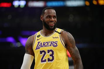 LeBron James Goes Full Dad Mode With Bizarre Fart Analogy