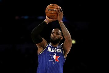 LeBron's All Star Jersey Nets Record Amount For Kobe's Charity