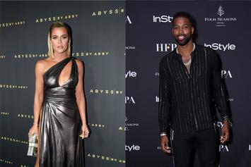 Khloe Kardashian Laughs Off Tristan Thompson Shirtless Tweet