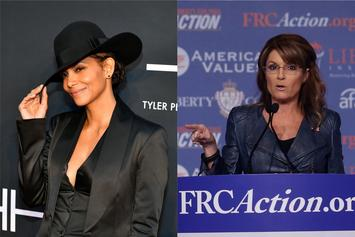 Halle Berry Disses Distant Relative Sarah Palin