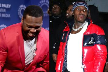 50 Cent Joins In On DaBaby Slap Altercation Jokes