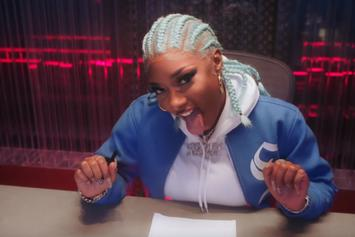 """Megan Thee Stallion Throws A Studio Party In """"Captain Hook"""" Visual"""