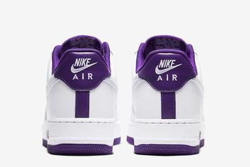 "Nike Air Force 1 Low ""Voltage Purple"" Drops Soon: Photos"