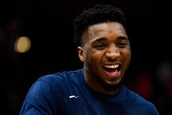 "Donovan Mitchell's Adidas Shoe To Release In ""Joker"" Colorway"