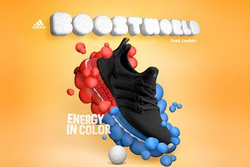 Adidas & Foot Locker Launch Colorful Boost Word Collection