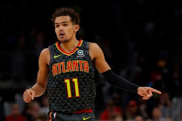 Trae Young Hilariously Re-Enacts 3-Point Contest With His Laundry