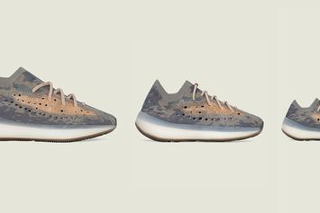 "Adidas Yeezy Boost 380 ""Mist"" Releasing In Sizes For The Whole Fam"