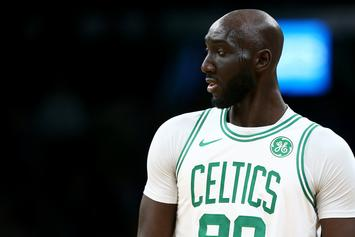 Tacko Fall Shares Hilarious Video On What It's Like To Be 7'5""