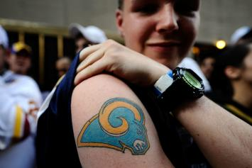 Rams Roasted By NFL Fans After Unveiling Disastrous New Logo