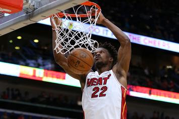 Jimmy Butler Offers Fans A Quarantine Home Workout Experience
