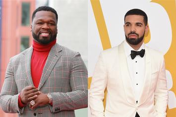 50 Cent Reacts To Drake's Son's Pictures