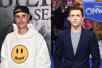 Justin Bieber & Tom Holland Meet For The First Time On IG Live