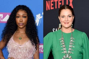 SZA Shows Love To Good Friend Drew Barrymore On IG