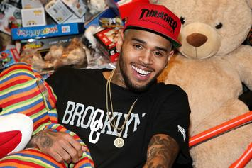 """Chris Brown Approves Of Shaqir O'Neal's """"Take You Down"""" Cribchella Performance"""