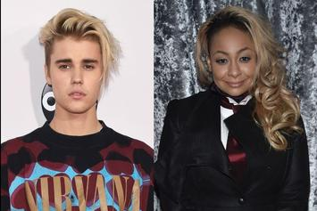 "Justin Bieber Asked Raven-Symoné To Do TV Look: ""You Got My Check?"""