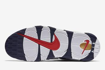 """Nike Air More Uptempo """"Olympic"""" Returning Soon: Photos"""