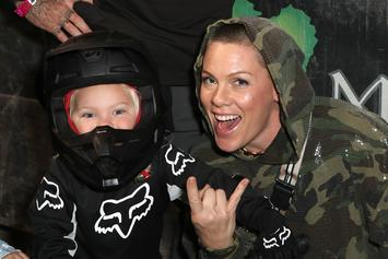 Pink Shares Scary Update On 3-Year-Old Son's Battle With Coronavirus