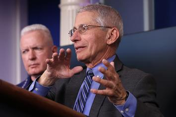 "Dr. Fauci Hopes Brad Pitt Will Play Him On ""Saturday Night Live"""