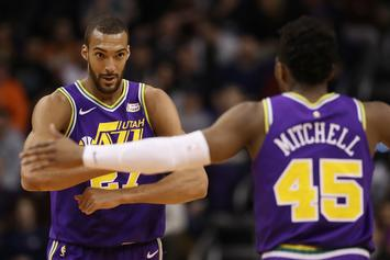 Rudy Gobert Says He's Back On Good Terms With Donovan Mitchell