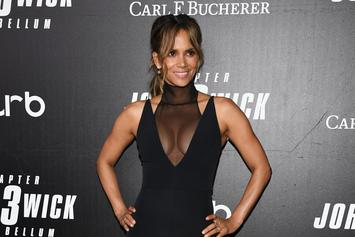 Halle Berry Strips Down To Take Part In The #PillowChallenge