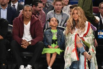 Blue Ivy Demonstrates Importance Of Hand-Washing Amid Coronavirus