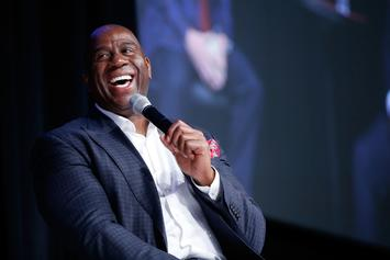 "Magic Johnson Names Michael Jordan & Three Others As ""Greatest Entertainers"""
