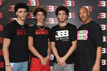 Lonzo, LaMelo & LiAngelo Ball Sign With Jay-Z's Roc Nation Sports