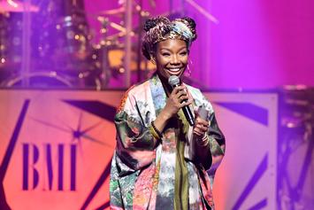 "Brandy Teases Her Return With ""Baby Mama"" Single Featuring Chance The Rapper"