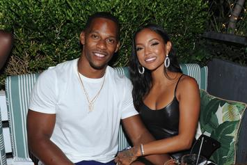 "Victor Cruz & Karrueche Tran ""Probably Talk 20 Hours A Day On FaceTime"""